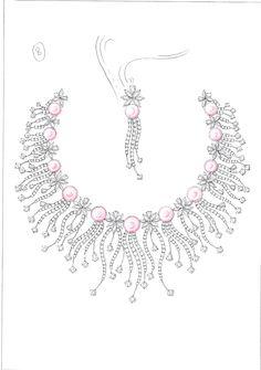 Sketch Book #jewelry #design #set