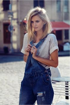 Oh the denimdungarees! One of our favourite pieces for those style days that are more spur of the moment than planned.  In S/S we recommended a cropped tee underneath but for A/W keep it covered and go for long sleeves. It has to be one of the best CASUAL and CHIC looks that we know.    Love…Light…Liberty x    #LOTD #LOVEdungarees #howdoyouwearyours #lovethatSTYLE #lookoftheday #fashionPICKS #thatwefavour  Photography Credit: syvende.tumblr.com