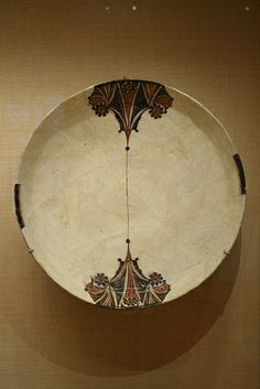 Bowl with Red and Black Vegetal Motifs 10th cent. Iran or Uzbekistan.