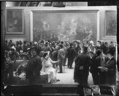 Au Salon des Artistes Français en 1911. Henri Adolphe Laissement (1854-1921) François Antoine Vizzavona (1876-1961)