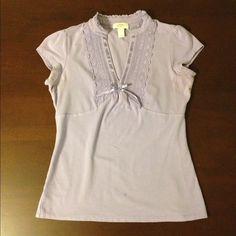 SALE - LOFT Light Purple Top Ann Taylor LOFT light purple top. Size S. Gently worn. LOFT Tops