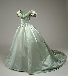 ball gown 1860s