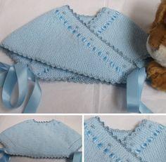 El baul del bebe                                                                                                                                                                                 Más Baby Knitting, Crochet Baby, Knit Crochet, Bebe Baby, Baby Love, Tricot Baby, Baby Cardigan, Baby Sweaters, Burp Cloths