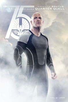 Catch Your Breath: The New 'Hunger Games: Catching Fire' Posters Are Here!: Bruno Gunn as Brutus