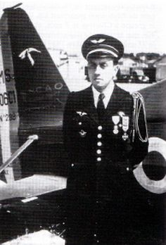 De PUYBUSQUE Jacques, french ace WWII - pin by Paolo Marzioli