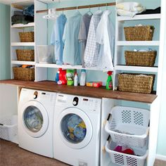 10 Ways to Make Your Laundry Room Look Amazing
