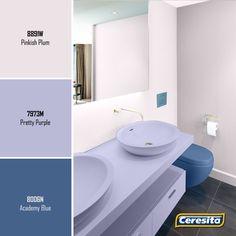 #CeresitaCL #PinturasCeresita #Color #Baños #Pintura #Decoración #Tendencia #Estilo #Hogar *Códigos de color sólo para uso referencial. Los colores podrían lucir diferentes, según calibrado de su monitor.