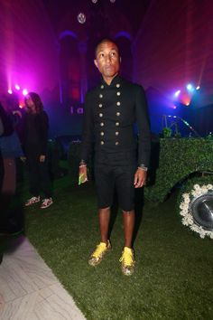 """<p>At the """"I am Other And Adidas'""""Grammy Party To Celebrate Pharrell Williams</p>"""