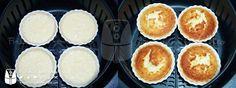 Tortinha de Coco Fácil na AirFryer | Fritadeira sem Óleo - AirFryer