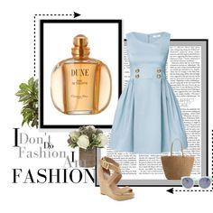 Esta primavera dale un toque chic a tu look con un vestido de mezclilla. 1.- Perfume Christian Dior- Dune  http://fashion.linio.com.mx/a/diordune