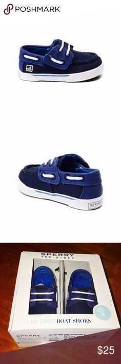 🔅Sperry Top-Side Haylard Boat Shoe CRIB🔅W/GIFTS! 🔅BRAND NEW NEVER OPENED BOX🔅Get on board with the NEW Haylard Boat Shoe from Sperry Top-Sider! The Haylard Boat Shoe features canvas uppers with hand sewn Tru-Moc construction, 360° lacing with a hook & loop strap closure, & a non-marking rubber out sole! This NEW style is ONLY sold in our JY KIDZ STORES, NO other retailer has these!🔅EXPEDITED SHIPPING🔅BUNDLE ONLY 3 ITEMS GET AN ADDITIONAL 15% OFF, OR JUST 2 FOR AN ADDITIONAL 10%…