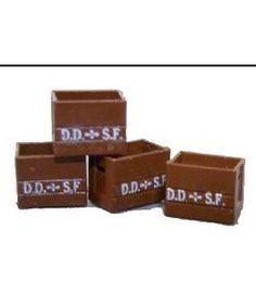 Epoke Modeller 876027. Sprit- og snapsekasser. DDSF.