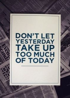Good advice ツ