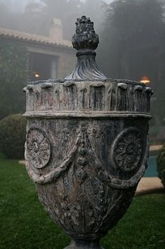 Once upon a time- A trip to John Saladino's Villa   real estate decor blog's