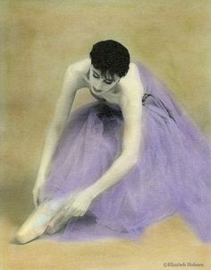 Ballet Dancer II - Photo Reproduction Dancer Print by Elizabeth Holmes of The Painted Photo
