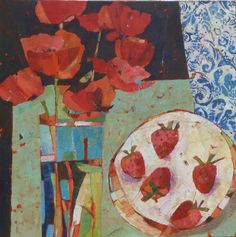 Sally Anne Fitter : Poppies and Five Strawberries
