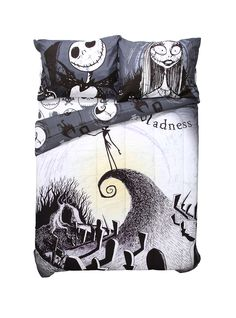 Nightmare Before Christmas Bedding Set - $75