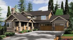 Sloped lot daylight Craftsman. Plan 2374 The Clearfield is a 3148 SqFt Craftsman style home plan featuring Covered Patio, Guest Suite, Mud Room , Office, Rec Room, Walk-In Pantry, Wet Bar, and Wine Cellar by Alan Mascord Design Associates. View our entire house plan collection on Houseplans.co.