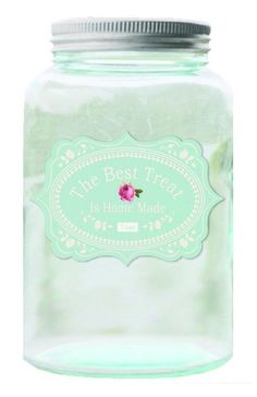 Tilda Glass Jar Home made - Tilda Crafts - Sewing, Fabric and Quilting RUCraft