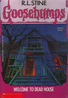 My most favorite books from childhood... Goosebumps. :)