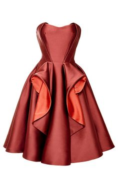 Shop Stretch Duchess Dress by Zac Posen for Preorder on Moda Operandi