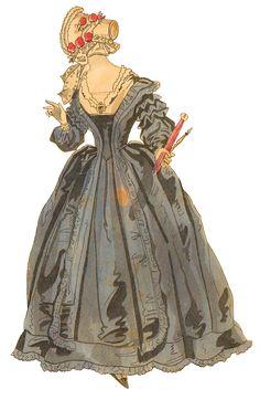 Godey Lady Vintage