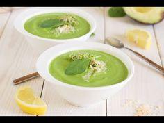 Crema fría de aguacate y espinacas en menos de 5 minutos - YouTube - El Cucharón Verde