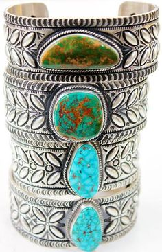 Turquoise Bracelets from Perry Null Trading Company