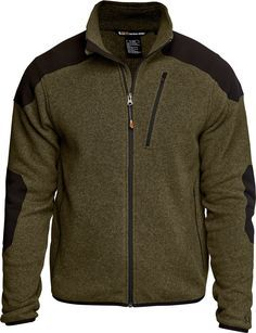 PURPOSE BUILT Combining the fashionable comfort of a designer sweater with the functional utility of a TDU jacket, the new Tactical Full Zip Sweater is perfectly suited for both covert field duty and