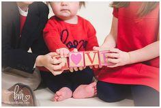 Valentine's Day Mini Session - Valentine's Day Child Photography