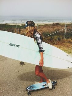 Surf and skate. living the dream :)