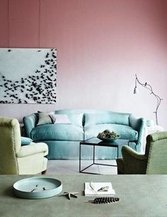 How to paint ombre walls tips - 20 Ombre wall paint ideas - LittlePieceOfMe