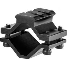"""Barrel Mount - Single Rail, Rifle. Barrel Mount - Single Rail, RifleManufacture ID: AW12006Single Rifle barrel Mount, Single rail, 2 sectionsBarrel system will attach to most any rifle barrel. Picantinny/Weaver rails to easily attach tactical items such us bipod, flashlight, foregrip, optic accessory or laserSpecifications:- Rail Type: Weaver/Picatinny- Rail Length: 1.2""""- Material: Aluminum- Color/Finish: Black/Matte- Barrel Range Diameter Inches: .51-.78- Warranty: 1 Year Limited"""