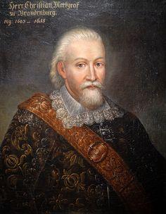 Кристиан (маркграф Бранденбург-Байрейта) - 29.04.1604г. в Плассенбурге Кристиан сочетался браком с Марией Прусской,дочерью Альбрехта Фридриха Прусского.