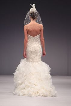 Statement Headpieces From the 2013 Wedding Runway- @Anne / La Farme Barge