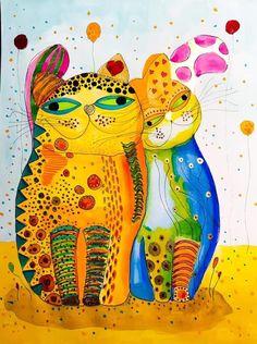 Dancing Cat, Sculptures, Paintings, Illustrations, Dance, Artists, Digital, Cats, Dancing