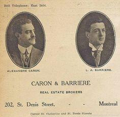 Carte d'affaire d'agents immobiliers. 1912. P98-01_045 2 | by Archives de la Ville de Montréal