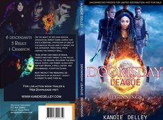 Doomsday League Cover Design by Kandie Delley