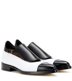 Francesco Russo Leather Monk Shoes For Spring-Summer 2017