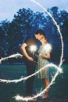 wedding sparklers sparkler send off wedding ideas / http://www.himisspuff.com/sparkler-wedding-exit-send-off-ideas/5/