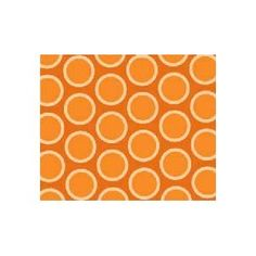 #4 SheetWorld Fitted Crib / Toddler Sheet - Primary Bubbles Orange Woven - Made In USA