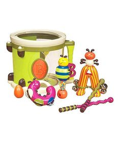 Parum Pum Pum Drum Set #zulilyfinds