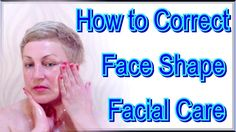 How to Correct Face Shape at Home - Facial Massage Technique from Tanaka...
