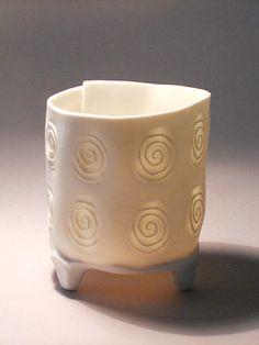 Sarah Walters love the translucency.  www.porcelainbyAntoinette.com