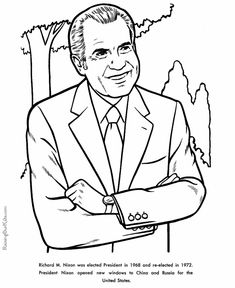 19 best president project images american presidents us Bill Clinton Gangster president richard nixon free printable us presidents coloring pages learning activities and coloring sheets homeschool us presidents learning aids