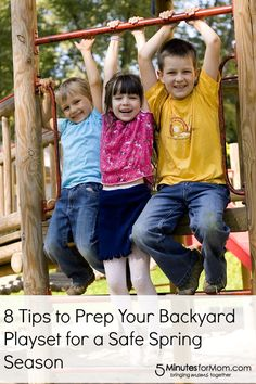 8 Tips to Prep Your Backyard Playset for a Safe Spring Season