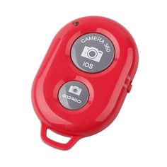 KINGCO Wireless Camera Bluetooth Self-timer Remote Shutter Controller for IOS Android Smartphone Tablet iPhone 5 5s 5c 4s 4, ipad 5 4 3 ipad Air Mini, Sony Xperia, HTC New One and X, Samsung Galaxy S3 S4 S5 Note 1 2 3 Galaxay Tab 2 Note8 10.1, Google Nexus 4 5 7 8(Red) Simple and easy camera shutter remote control for iPhone, iPad, Android and Samsung Galaxy / Notes NO APPS TO DOWNLOAD when using an iPhone, iPad, iPod Touch, Samsung Galaxy S3, Galaxy S4 S3, Galaxy Note 3 2, Galaxy Note 8…