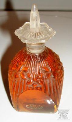 Nally - Portugese perfume bottle. Julien Viard designer. c, 1929