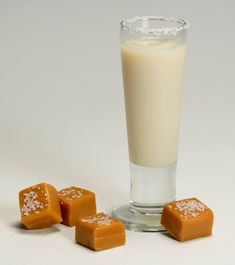 Indulge your taste buds today. RumChata's SALTED CARAMEL SHOOTER      2 parts RumChata  1 part Caramel vodka  Sea salt or table salt    Shake with ice and strain into shot glass that has been rimmed with sea salt, or lick salt off of hand like tequila shot.