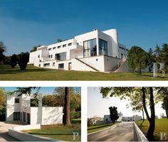 1920s Robert Mallet-Stevens-designed art deco Villa Poiret property in Île-de-France, near Paris, France